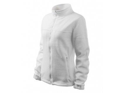 Jacket fleece dámský bílá
