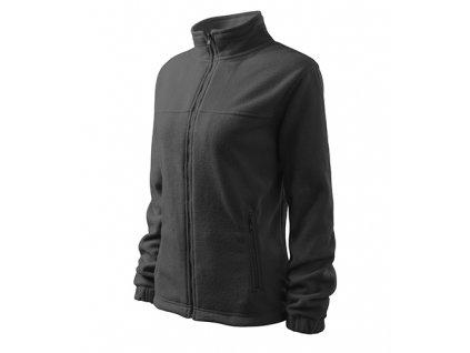Jacket fleece dámský ocelově šedá