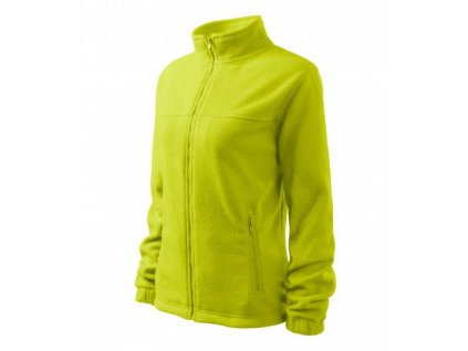 Jacket fleece dámský limetková