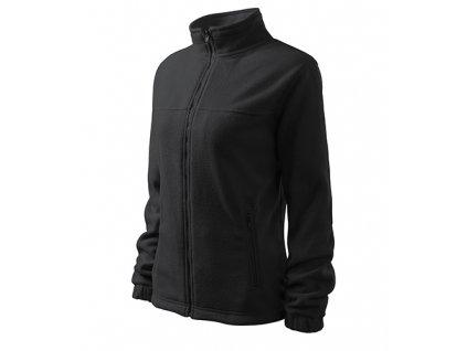 Jacket fleece dámský ebony gray