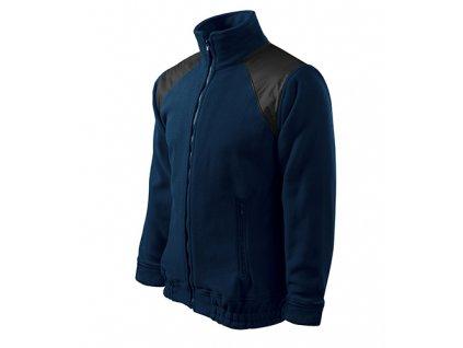 Jacket Hi-Q fleece unisex námořní modrá