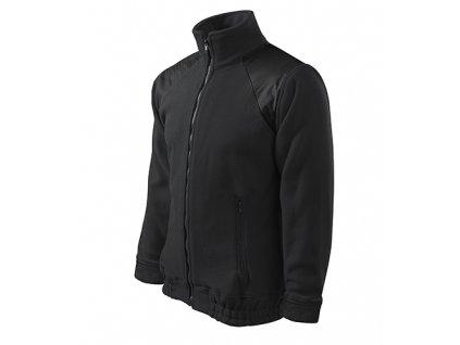 Jacket Hi-Q fleece unisex ebony gray