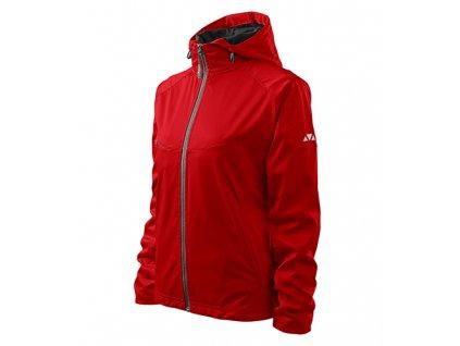 Cool softshellová bunda dámská červená