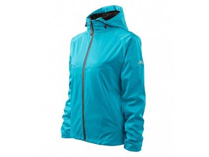Cool softshellová bunda dámská tyrkysová