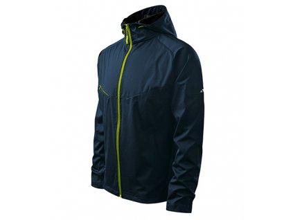 Cool softshellová bunda pánská námořní modrá