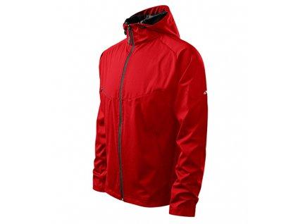 Cool softshellová bunda pánská červená