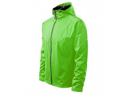 Cool softshellová bunda pánská apple green