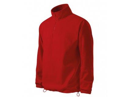 Horizon fleece pánský červená