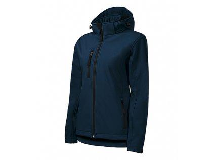 Performance softshellová bunda dámská námořní modrá