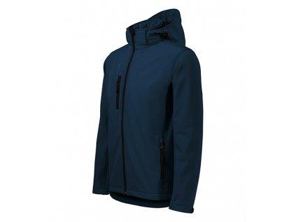 Performance softshellová bunda pánská námořní modrá