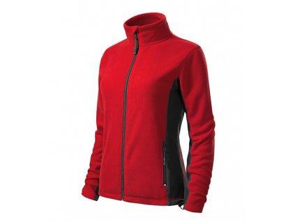 Frosty fleece dámský červená