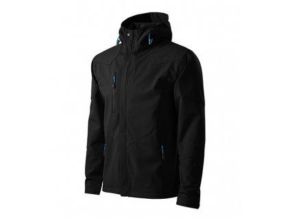 Nano softshellová bunda pánská černá