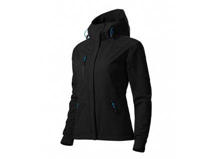 Nano softshellová bunda dámská černá