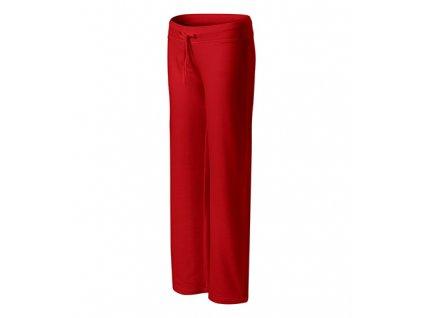 Comfort tepláky dámské červená