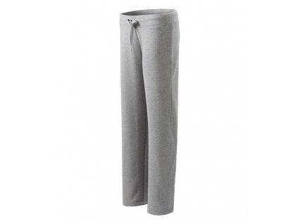 Comfort tepláky dámské tmavě šedý melír