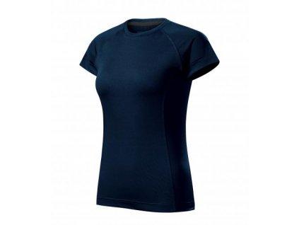 Destiny tričko dámské námořní modrá