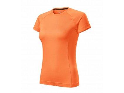 Destiny tričko dámské neon mandarine