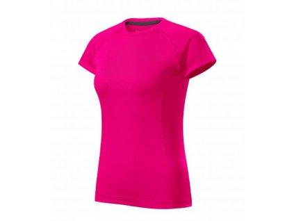 Destiny tričko dámské neon pink