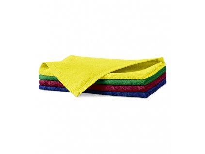 Terry Hand Towel malý ručník unisex marlboro červená
