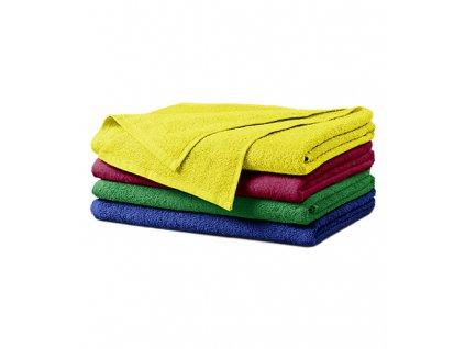 Terry Bath Towel osuška unisex královská modrá