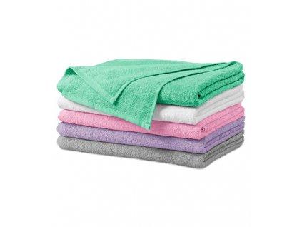Terry Bath Towel osuška unisex růžová