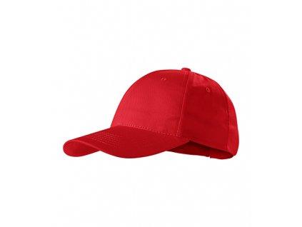 Sunshine čepice unisex červená
