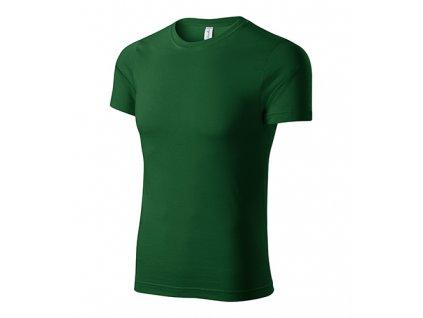 Paint tričko unisex lahvově zelená