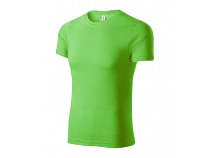 Paint tričko unisex apple green