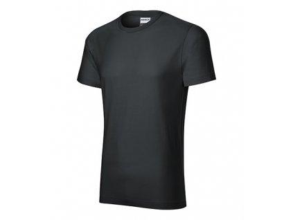 Resist tričko pánské ebony gray