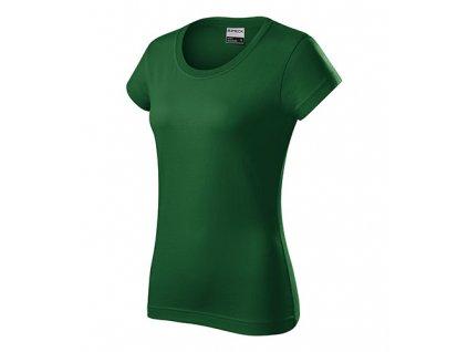 Resist heavy tričko dámské lahvově zelená