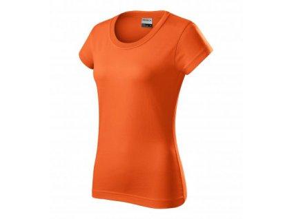 Resist heavy tričko dámské oranžová