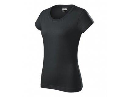 Resist heavy tričko dámské ebony gray