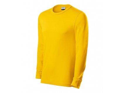 Resist LS triko unisex žlutá