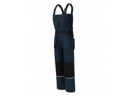 Woody pracovní kalhoty s laclem pánské námořní modrá