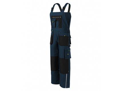 Ranger pracovní kalhoty s laclem pánské námořní modrá