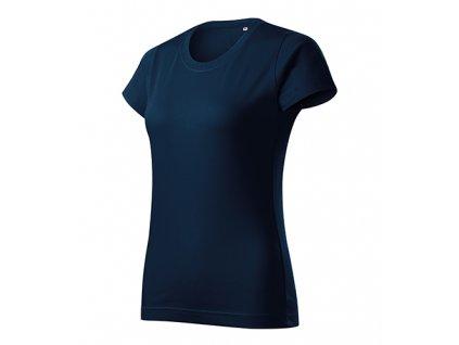 Basic Free tričko dámské námořní modrá