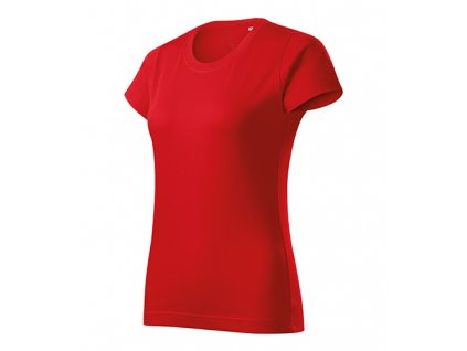 Basic Free tričko dámské červená