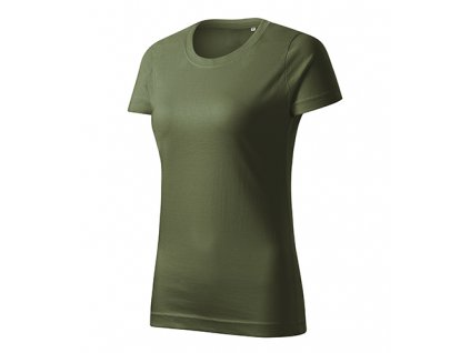 Basic Free tričko dámské khaki