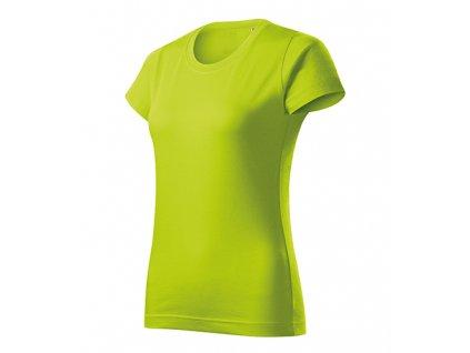 Basic Free tričko dámské limetková