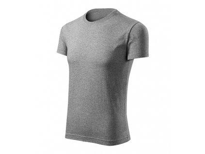 Viper Free tričko pánské tmavě šedý melír