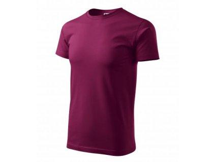 Basic tričko pánské fuchsiová