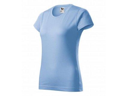 Basic tričko dámské nebesky modrá