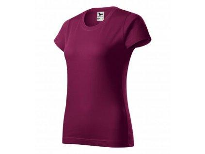 Basic tričko dámské fuchsiová