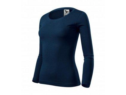 Fit-T LS triko dámské námořní modrá