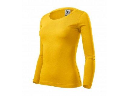 Fit-T LS triko dámské žlutá