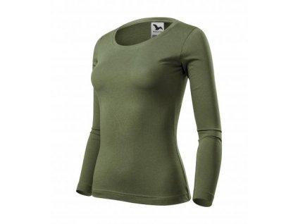 Fit-T LS triko dámské khaki