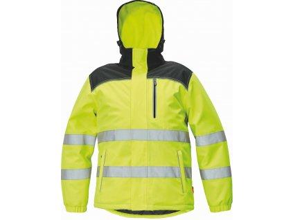 KNOXFIELD Hi-Vis reflexní zimní bunda žlutá (Velikost/varianta 5XL)