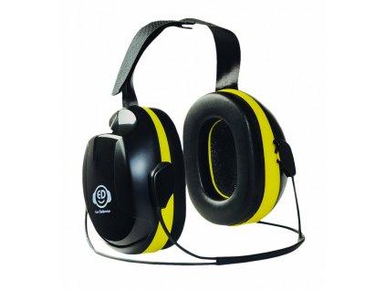 ED 2N EAR DEFENDER mušlové chrániče sluchu žluté, 30 dB