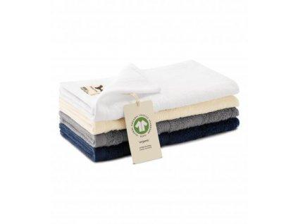 Organic malý ručník unisex bílá