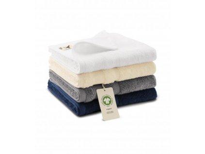Organic ručník unisex námořní modrá